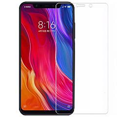 Недорогие Защитные плёнки для экранов Xiaomi-asling протектор экрана для xiaomi xiaomi mi 8 se закаленное стекло 1 шт. защита переднего экрана 9-кратная твердость / 2.5d изогнутая кромка / взрывозащита