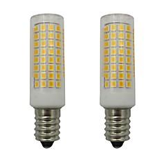 preiswerte LED-Birnen-2pcs 5 W 460 lm E14 LED Mais-Birnen 102 LED-Perlen SMD 2835 Dekorativ Warmes Weiß / Kühles Weiß 220-240 V