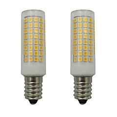 abordables LED e Iluminación-2pcs 5 W 460 lm E14 Bombillas LED de Mazorca 102 Cuentas LED SMD 2835 Decorativa Blanco Cálido / Blanco Fresco 110-130 V