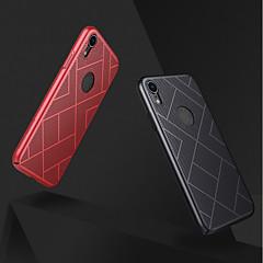 Недорогие Кейсы для iPhone-Кейс для Назначение Apple iPhone XR / iPhone XS Max Защита от удара / Матовое Кейс на заднюю панель Однотонный Твердый ПК для iPhone XS / iPhone XR / iPhone XS Max