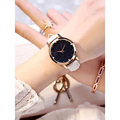 preiswerte Damenuhren-Damen Armbanduhr Quartz 30 m Neues Design Armbanduhren für den Alltag PU Band Analog Freizeit Modisch Weiß / Fuchsia - Weiß Fuchsia