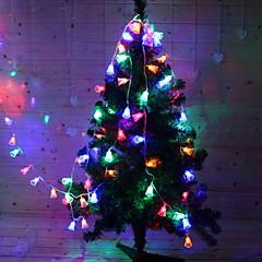 お買い得  LED ストリングライト-1.2m ストリングライト 10 LED マルチカラー 装飾用 / 愛らしいです ソーラー駆動 1セット