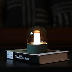お買い得  LED アイデアライト-BRELONG® 1個 LEDナイトライト 温白色 / ホワイト / 暖かい黄色 USB 調光可能 / 変色 / ベッドサイド 5 V