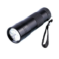 preiswerte Taschenlampen-Taschenlampen mit Schwarzlicht 5mm Lampe 1 Modus D09UV-1-0-1 - Wasserfest / Ultraviolettes Licht