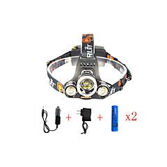 お買い得  ヘッドランプ-13000 lm ヘッドランプ / 安全ライト / 自転車用ヘッドライト LED 1 モード アングルライトのヘッド部 / 車に最適 / スーパーライト