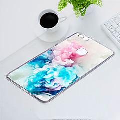 お買い得  Huawei Pシリーズケース/ カバー-ケース 用途 Huawei P10 Lite 耐埃 / 超薄型 / パターン バックカバー フラワー ソフト TPU のために P10 Lite