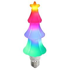 お買い得  LED 電球-1個 3 W 200 lm E26 / E27 LEDボール型電球 T 65 LEDビーズ SMD 2835 パーティー / 装飾用 / クリスマスウェディングデコレーション マルチカラー 85-265 V