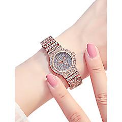 preiswerte Damenuhren-Damen Armbanduhr Quartz 30 m Wasserdicht Neues Design Legierung Band Analog Luxus Glanz Silber / Gold / Rotgold - Silber Gold Rotgold