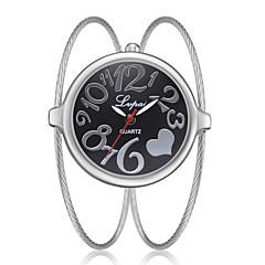 preiswerte Damenuhren-Damen Armband-Uhr Quartz Silber / Gold / Rotgold Neues Design Armbanduhren für den Alltag Analog damas Modisch Elegant - Rotgold Schwarz / Silber Schwarz / Rotgold Ein Jahr Batterielebensdauer