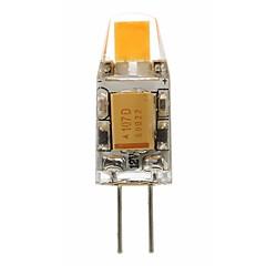 preiswerte LED-Birnen-SENCART 1pc 2 W 180 lm G4 LED Doppel-Pin Leuchten T 1 LED-Perlen COB Dekorativ Warmes Weiß / Weiß 12 V