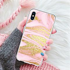 Недорогие Кейсы для iPhone 7-Кейс для Назначение Apple iPhone X / iPhone 8 Plus С узором Кейс на заднюю панель Мрамор Мягкий ТПУ для iPhone X / iPhone 8 Pluss / iPhone 8