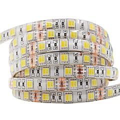 Недорогие Освещение салона авто-Ziqiao dc12v светодиодные со светом 5 м / рука 300leds светодиодная лента 5050см гибкая водонепроницаемая светодиодная лампа декоративная лампа 5050 светодиодные ленты