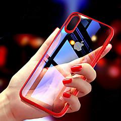 Недорогие Кейсы для iPhone-Кейс для Назначение Apple iPhone XR / iPhone XS Max Ультратонкий / Прозрачный Кейс на заднюю панель Однотонный Твердый ТПУ для iPhone XS / iPhone XR / iPhone XS Max