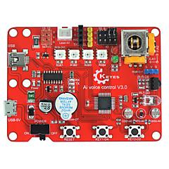 abordables Módulos-tarjeta de control de voz keyes ai voice control v3.0 basada en rojo arduino