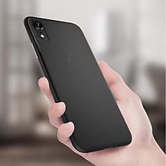 Недорогие Кейсы для iPhone 7 Plus-Кейс для Назначение Apple iPhone XR / iPhone XS Max Ультратонкий / Матовое Кейс на заднюю панель Однотонный Мягкий ТПУ для iPhone XS / iPhone XR / iPhone XS Max