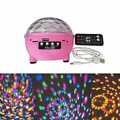 preiswerte Ausgefallene LED-Beleuchtung-1 set LED-Nachtlicht / Smart Nachtlicht RGB USB Bluetooth / Ferngesteuert / Farbwechsel 5 V