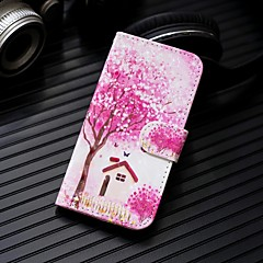 Недорогие Кейсы для iPhone 7 Plus-Кейс для Назначение Apple iPhone XR / iPhone XS Max Кошелек / Бумажник для карт / со стендом Чехол дерево Твердый Кожа PU для iPhone XS / iPhone XR / iPhone XS Max
