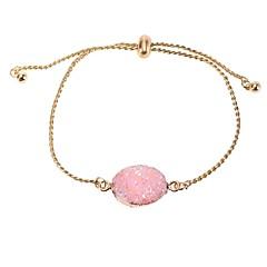 preiswerte Armbänder-Damen Retro Armband mit Anhänger - Modisch Armbänder Rosa / Dunkelrot / Hellblau Für Alltag Ausgehen