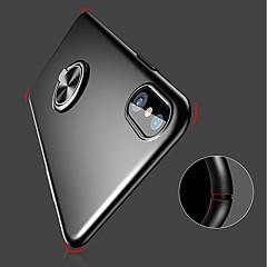 Недорогие Кейсы для iPhone 6-Кейс для Назначение Apple iPhone XR / iPhone XS Max Кольца-держатели / Ультратонкий / Матовое Кейс на заднюю панель Однотонный Твердый ПК для iPhone XS / iPhone XR / iPhone XS Max