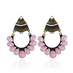 preiswerte Ohrringe-Damen Retro Tropfen-Ohrringe - Europäisch Bronze Für Strasse