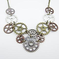 preiswerte Halsketten-Damen Statement Ketten - Ausrüstung Erklärung, Retro, Steampunk Cool Antike Bronze 44+5 cm Modische Halsketten Schmuck 1pc Für Nacht Besondere Anlässe, Karnival
