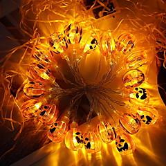 preiswerte LED Lichtstreifen-2m Leuchtgirlanden 20 LEDs Gelb Dekorativ AA-Batterien angetrieben 1 set