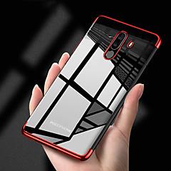 Недорогие Чехлы и кейсы для Xiaomi-Кейс для Назначение Xiaomi Xiaomi Pocophone F1 / Mi 8 Покрытие / Прозрачный Кейс на заднюю панель Однотонный Мягкий ТПУ для Xiaomi Pocophone F1 / Xiaomi Mi 8 / Xiaomi Mi 8 SE