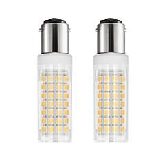 preiswerte LED-Birnen-2pcs 6 W 750 lm BA15D LED Mais-Birnen T 88 LED-Perlen SMD 2835 Warmes Weiß / Kühles Weiß 85-265 V