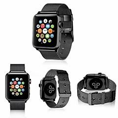 abordables Correas para Reloj-Acero Inoxidable Ver Banda Correa para Apple Watch Series 4/3/2/1 Negro / Plata / Rojo 23cm / 9 pulgadas 2.1cm / 0.83 Pulgadas