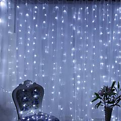 お買い得  LED ストリングライト-BRELONG® 6m ストリングライト 600 LED 温白色 / RGB / ホワイト 防水 / パーティー / 装飾用 220-240 V 1個