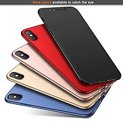 Недорогие Кейсы для iPhone X-Кейс для Назначение Apple iPhone XR / iPhone XS Max Ультратонкий / Матовое Кейс на заднюю панель Однотонный Твердый ПК для iPhone XS / iPhone XR / iPhone XS Max