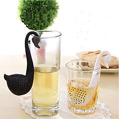abordables Accesorios para té-El plastico Cocina creativa Gadget Cisne 1pc Colador de té