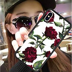 Недорогие Кейсы для iPhone 7 Plus-Кейс для Назначение Apple iPhone XR / iPhone XS Max С узором Кейс на заднюю панель Цветы Твердый Силикон / ПК для iPhone XS / iPhone XR / iPhone XS Max