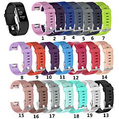 ieftine -Uita-Band pentru Fitbit Charge 2 Fitbit Banderola Sport Silicon Curea de Încheietură