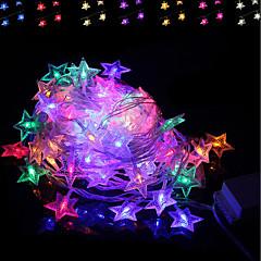 preiswerte LED Lichtstreifen-BRELONG® 4m Leuchtgirlanden 28 LEDs RGB Kreativ / Party / Dekorativ 220-240 V 1pc