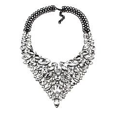 お買い得  ネックレス-女性用 合成ダイヤモンド Yネックレス  -  ドロップ クラシック, 誇張 レインボー, レッド, ブルー 48 cm ネックレス ジュエリー 1個 用途 結婚式, パーティー