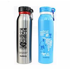 abordables Botellas de Agua-Vasos Botellas de Agua / Botella Sport / ventosa Acero + Plástico / Acero inoxidable / PP+ABS Portátil / retener el calor Para escuela / Deporte