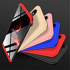 Недорогие Чехлы и кейсы для Xiaomi-Кейс для Назначение Xiaomi Mi 8 Защита от удара / Матовое Кейс на заднюю панель Однотонный Твердый ПК для Xiaomi Mi 8