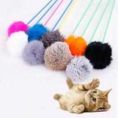 お買い得  猫用おもちゃ-インタラクティブ ペットフレンドリー プラスチック / プラッシュ 用途 猫用