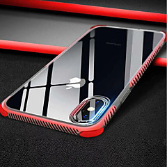 Недорогие Кейсы для iPhone 6 Plus-Кейс для Назначение Apple iPhone XR / iPhone XS Max Прозрачный Кейс на заднюю панель Однотонный Мягкий ТПУ для iPhone XS / iPhone XR / iPhone XS Max