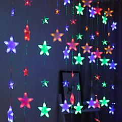 お買い得  LED ストリングライト-4m ストリングライト 272 LED マルチカラー 装飾用 220-240 V 1セット
