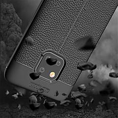 Недорогие Чехлы и кейсы для Huawei Mate-Кейс для Назначение Huawei Huawei Mate 20 Pro / Huawei Mate 20 Защита от удара Кейс на заднюю панель Однотонный Мягкий ТПУ для Mate 10 / Mate 10 pro / Mate 10 lite
