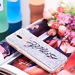 Недорогие Чехлы и кейсы для Huawei Mate-Кейс для Назначение Huawei Mate 10 lite Защита от удара / Сияние и блеск Кейс на заднюю панель Сияние и блеск Мягкий ТПУ для Mate 10 lite