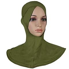 Недорогие Женские украшения-Жен. Классический Хиджаб - Многослойность Однотонный