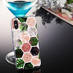 お買い得  iPhone 5S/SE ケース-ケース 用途 Apple iPhone XS / iPhone XS Max IMD / パターン バックカバー マーブル ソフト TPU のために iPhone XS / iPhone XR / iPhone XS Max