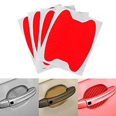 お買い得  カーデコレーション-オレンジ / グレー / レッド 車ステッカー かわいいスタイル ドアハンドルステッカー 指定されていません 3Dステッカー