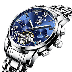 preiswerte Herrenuhren-Herrn Armbanduhr Quartz Silber Kompass Analog-Digital Modisch - Silber / Edelstahl