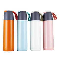 abordables Tazas y vasos-Vasos ventosa / Vaso Acero Inoxidable Portátil / retener el calor / Termoaislante Regalo / Casual / Diario