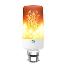 preiswerte LED-Birnen-YWXLIGHT® 1pc 6 W 550-600 lm E14 / B22 / E12 LED Mais-Birnen T 99 LED-Perlen SMD 3528 Abblendbar / Dekorativ / Flamme flackert Warmes Weiß 85-265 V