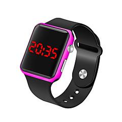 お買い得  メンズ腕時計-男性用 リストウォッチ デジタル ブラック 30 m 耐水 LCD デジタル ファッション ミニマリスト - フクシャ ブルー ローズゴールド